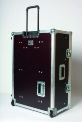 Transport case for Congo Jr. with the original wing-The firm Art Lighting Production, s. r. o. has extended its production assortment with the production of the atypical custom-made transport cases. Though we have been producing the transport cases already for three years we are noting this only now when we have received enough production references and we have an increasing number of satisfied customers.