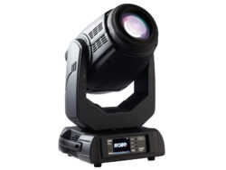 Robin Pointe black-Discharge intelligent moving light type SPOT by ROBE.