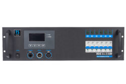 RDS 6x5 - The dimming equipment with 6 circuits for maximal load 5kW per one circuit.