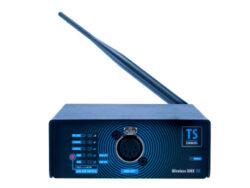 Wireless DMX-RX-Receiver for Wireless transmission of DMX signal.