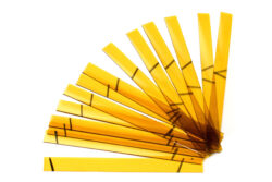 Glass strips set for CHR 1000/04 - yellow 250 x 300mm