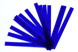 Glass strips set for CHR 500 - Dark blue, 210 x 205mm