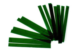 Glass strips set for CHR 500 - Dark green 210 x 205mm
