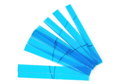 Glass strips set for CHR 500 - Aquamarine 210 x 205mm