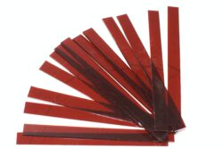 Glass strips set for CHR 500 - Red, 210 x 205 mm