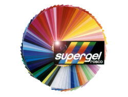Foil Supergel n.100 Frost-Rosco SUPERGEL is a range of high temperature (HT), fire resistant color filters.
