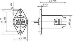 Patice R7s,  d - 400mm(25932)