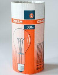 halogen bulb 500W 230V E40, SPC.A T CL