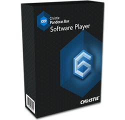 Software Player 1x OUT - License for Pandoras Box Software Player, 1 output, unlimited graphical layers, 4 video layers and 4 ASIO audio layers, 1 sequence.