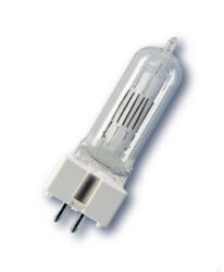 500W  T/25  230V   GY9,5 - Halogen bulb 500W, T/25 lifetime:  	          300 h luminosity:     10 000 lm temperature:   	3 000 K