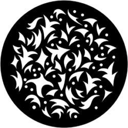 gobo 71023 - Festive Abstract-Ocelové  Gobo se vzorem.