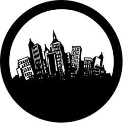 gobo 71027 - Fun City-Ocelové  Gobo se vzorem.