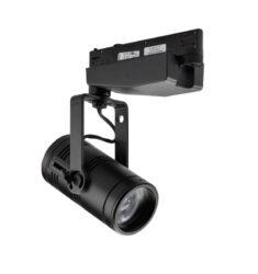 Irideon WLZ Gallery wash light, portable, 3000k w. EU connector, black(7192A1220)