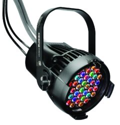 D40XT Vivid Fixture, Black - The fixture D40XT type WASH by ETC.
