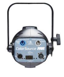 ColorSource PAR, XLR, Black(7412A1205)