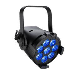 ColorSource PAR Deep Blue, XLR, Black-LED fixture PAR from the company ETC.