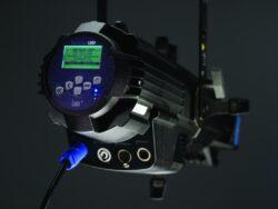 Source Four CE LED Lustr+ w. Shutter Barrel, Black(7460A1251)