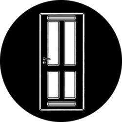 gobo 76568 - Classic Door-Ocelové  Gobo se vzorem.