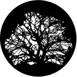 gobo 77320 - Tree 3-Metal GOBO with pattern.