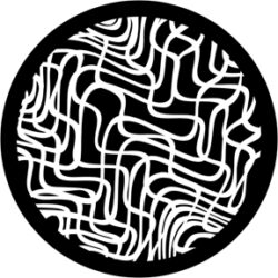gobo 81104 - Woven Grid-Skleněné Gobo se vzorem.