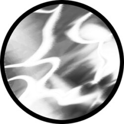 gobo 81120 - Shimmer-Skleněné Gobo se vzorem.