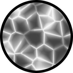 gobo 81122 - Cracking-Glass GOBO with pattern.