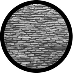 gobo 81180 - Slate Roof - Glass GOBO with pattern.