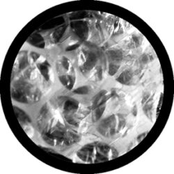 gobo 82202 - Bubble Wrap - Glass GOBO with pattern.