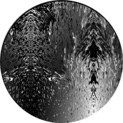 gobo 82751 - Lava Flow-Glass GOBO with pattern.