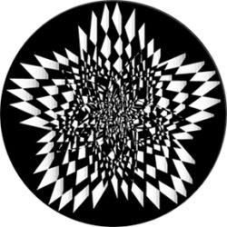 gobo 82761 - Star Spasm-Glass GOBO with pattern.