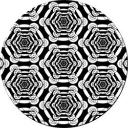 gobo 82773 - Hexoscope-Glass GOBO with pattern.