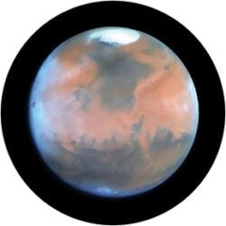 gobo 86664 - Mars-Skleněné Gobo se vzorem.