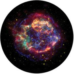 gobo 86669 - Chromatic Nebula-Glass GOBO with pattern.