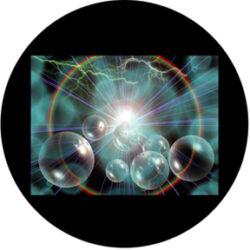 gobo 86670 - Celestial Storm-Skleněné Gobo se vzorem.