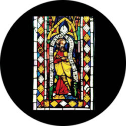 gobo 86675 - Comedia Stained Glass - Glass GOBO with pattern.