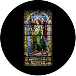gobo 86677 - Raphael Stained Glass - Glass GOBO with pattern.