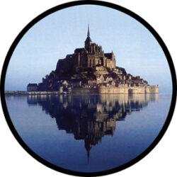 gobo 86680 - St Malo-Skleněné Gobo se vzorem.