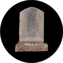 gobo 86688 - Headstone-Glass GOBO with pattern.