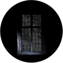 gobo 86694 - Gloomy Windiw-Glass GOBO with pattern.
