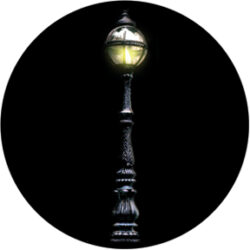 gobo 86696 - Streetlight-Glass GOBO with pattern.